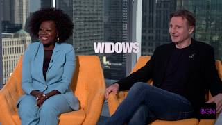 Download Viola Davis and Liam Neeson on Playing Husband and Wife in 'Widows' Video