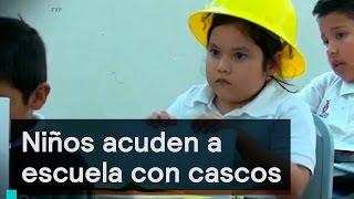 Download Denise Maerker 10 en punto - Educación: Niños acuden a escuela con cascos Video