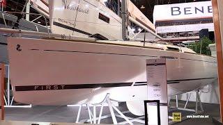 Download 2017 Beneteau First 25 Sailing Yacht - Deck and Interior Walkaround - 2016 Salon Nautique Paris Video