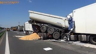 Download Schwerer Verkehrsunfall mit zwei Tote auf BAB 10 Video