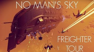 Download No Man's Sky - Freighter Purchase & Tour + Space Battle - Foundation Update Video