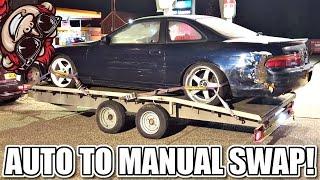 Download 🐒 AUTO TO MANUAL TRANSMISSION SWAP 1JZ SC300 SOARER Video