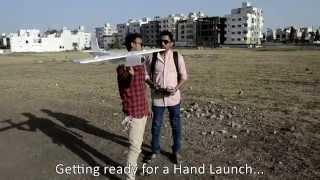 Download Experimental RC Plane#1 Maiden Flight Video