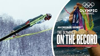 Download The ″Comaneci″ of Ski Jumping Gets The First Perfect 20s | Olympics on the Record Video