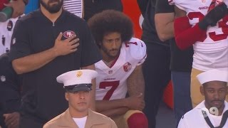 Download Athletes Join Colin Kaepernick By Refusing To Stand During the National Anthem Video