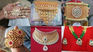 Download All Rajputi Jewellery | Aad | Bajubandh | Moti Haar | Hathfool | Punach | Shishful | Rajputi Earring Video