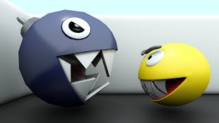 Download Pacman vs Chain Chomp - Monster Pacman 01 Video