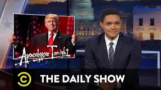 Download The Daily Show - Donald Trump Accepts the GOP Nomination & Ted Cruz Gets Booed at the RNC Video