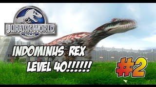 Download INDOMINUS REX LEVEL 40 ASESINO!!! - Jurassic World Operation Genesis #2 Video