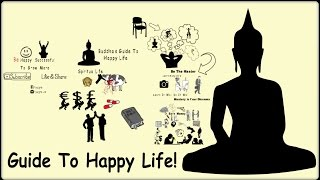 Download How To Live Happy Life | Buddha's Guide To Happy Life | Animated Version Video