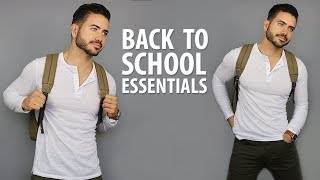 Download 10 Back To School Essentials for High School & College | Men's Fashion | Alex Costa Video