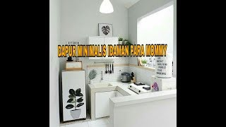 Download 75 DAPUR MINIMALIS INDAH IDAMAN SEMUANYA Video