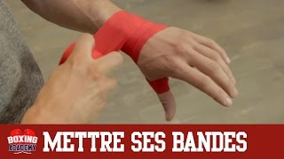 Download BANDAGE BOXE - METTRE SES BANDES DE BOXE EN 2 MINUTES (facile et rapide) Video