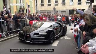 Download La Bugatti Chiron à 380 km/h sur le circuit des 24H du Mans ! Video