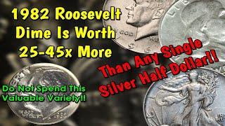 Top 10 Roosevelt Dime Doubled Die Varieties Errors List