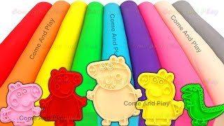 Download Learn Colors with Play Doh Modelling Clay and Family Molds Video