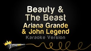 Download Ariana Grande, John Legend - Beauty & The Beast (Karaoke Version) Video