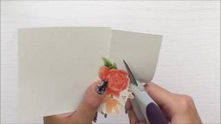 Download How To Foil A Stamped Image Using Altenew Floral Frame Video
