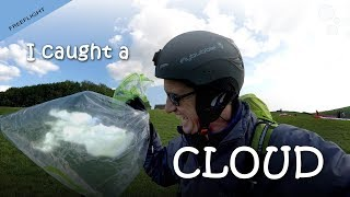 Download I caught a cloud on my paraglider ... and took it home! Video