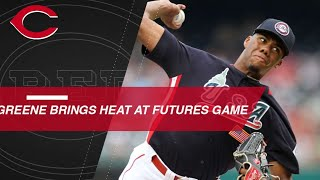 Download Greene brings the heat at the Futures Game Video