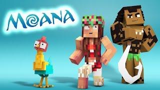 Download Minecraft Parody - MOANA! - (Minecraft Animation) Video