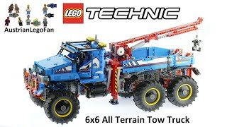 Download Lego Technic 42070 6x6 All Terrain Tow Truck - Lego Speed Build Review Video