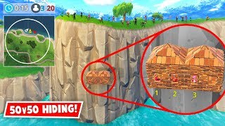 Download HIDING IN 50v50! *GONE WRONG* (Fortnite FAILS & WINS #19) Video