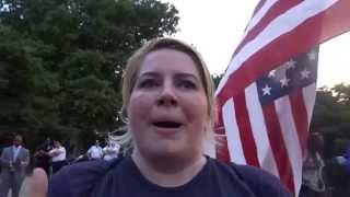 Download BURNING AMERICAN FLAG Ft Greene Brooklyn! Video