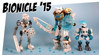 Download Lego Bionicle Kopaka Master of Ice & Protector 2015 Build and Review Video