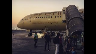 Download *Brand New* Etihad Airways B787-9 Full Flight Review (HD) Video