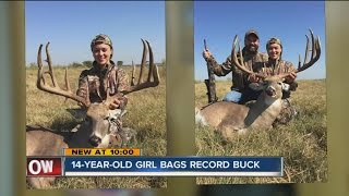 Download 14-Year-Old Girl Bags Record Buck Video