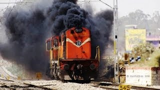 Download THE DIESEL VOLCANIC ERUPTION BY SMOKING ALCOS : INDIAN RAILWAYS Video