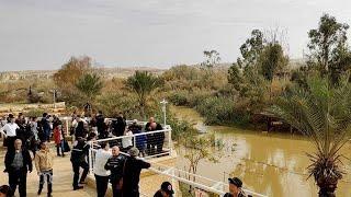 Download En las dos orillas del río Jordán se recuerda el bautismo de Jesús Video