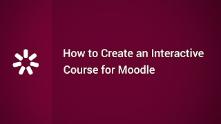 Download How to Create an Interactive Online Course for Moodle Video