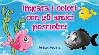 Download Impara i colori con gli amici pesciolini @MelaMusicTV Video