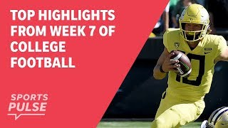 Download Top highlights from Week 7 of college football Video