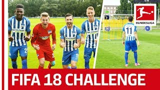 Download Leckie's Dream Day - EA SPORTS FIFA 18 Bundesliga Free Kick Challenge - Hertha Berlin Video