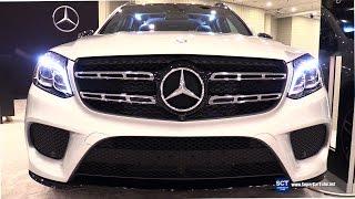 Download 2017 Mercedes-Benz GLS-Class GLS 550 SUV - Exterior, Interior Walkaround - 2016 New York Auto Show Video