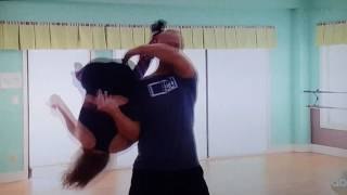 Download DWTS Lindsay farts in David's face Video