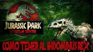 Download Jurassic Park - Como conseguir al Indominus Rex En Operation Genesis Video
