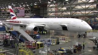 Download Boeing 787 Dreamliner được lắp ráp thế nào? Video