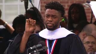 Download Chadwick Boseman's Howard University 2018 Commencement Speech Video
