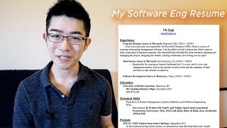 Download What My Software Engineer Resume Looks Like Video