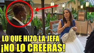 Download Humillaron a una mujer obesa que está probándose un vestido de novia, ¡Entonces la jefa hizo esto! Video