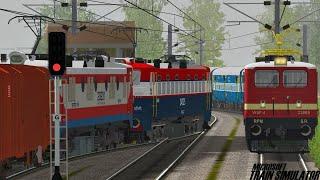 Download Mangalore - Nagercoil Parasuram Express | GST | MSTS Indian Railways | Train Simulator Video