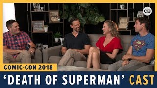 Download Death of Superman Cast - SDCC 2018 Exclusive Interview Video