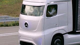 Download Mercedes Future Truck (2025) Autonomous Driving Demonstration Video