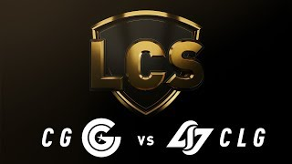Download CG vs. CLG - Week 7 Day 2 | LCS Spring Split | Clutch Gaming vs. Counter Logic Gaming (2019) Video