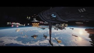 Download Star Wars Rogue One: FULL Space Battle of Scarif Supercut [1080p] - Better than The Battle of Endor? Video