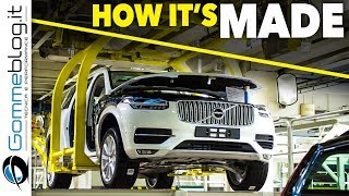 Download Volvo XC90 2017 HOW IT'S MADE + Top SAFETY Luxury AWD CRASH TEST Review Video